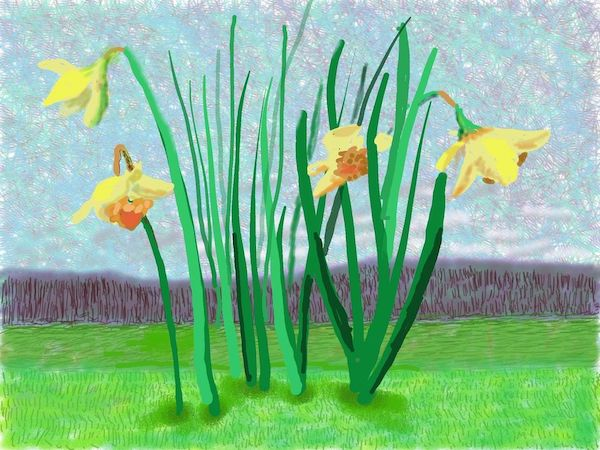 """""""Do remember they can't cancel the spring"""" / David Hockney"""